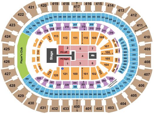 Capital One Arena Floor Plan