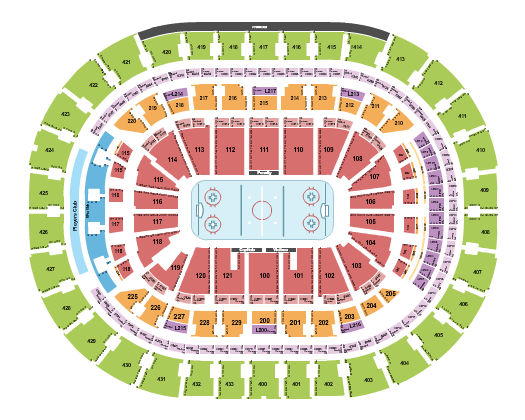 Capital One Arena Floor Plan