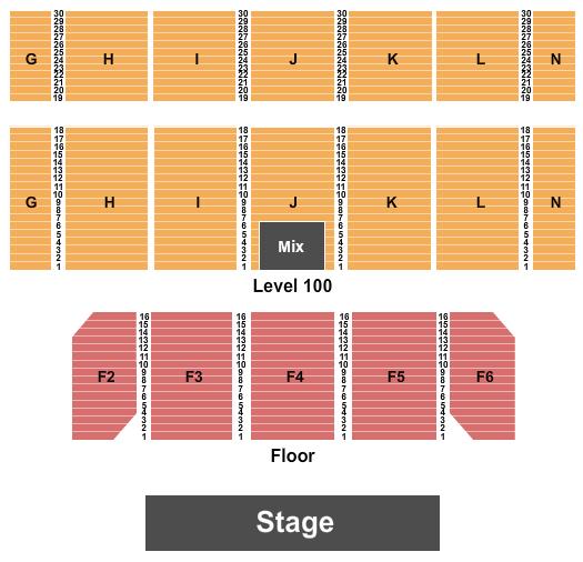 Casino Rama Entertainment Centre Floor Plan
