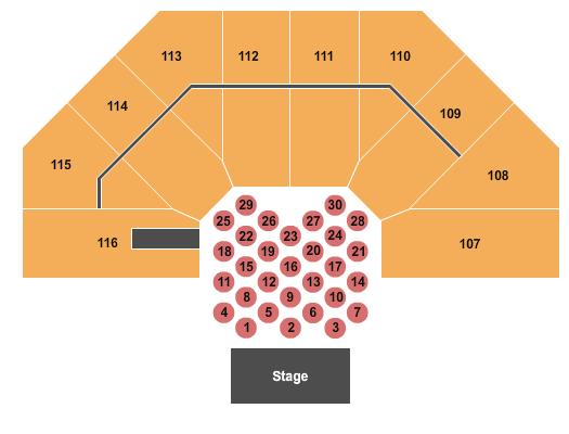 Casper Events Center Seating Chart