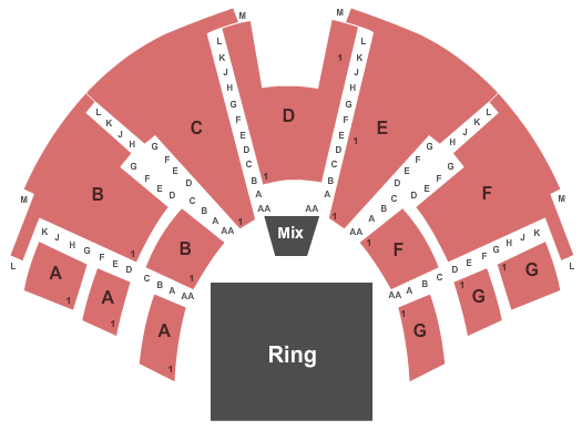 Center Stage Theatre seating chart event tickets center