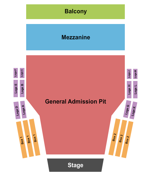 The Glorious Sons Centre In The Square - Ontario Seating Chart