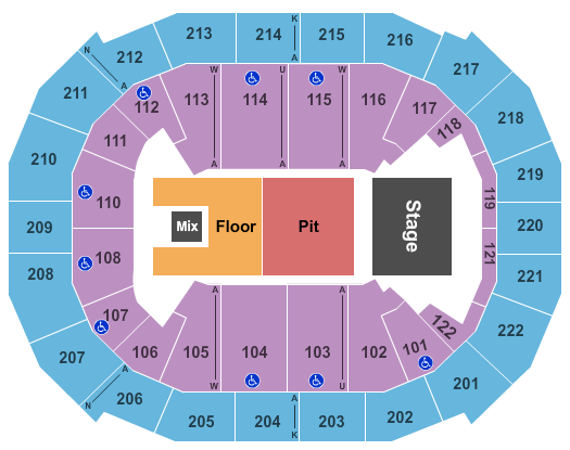 Chaifetz Arena seating chart event tickets center