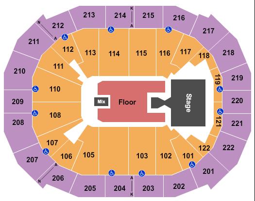Chaifetz Arena Floor Plan