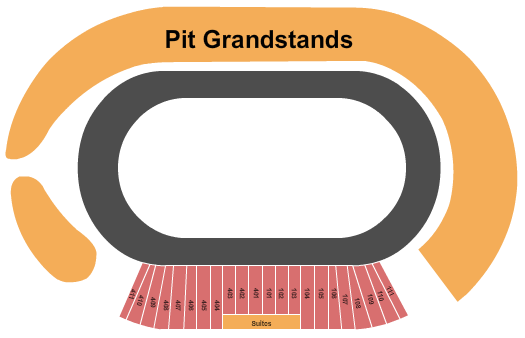 Charlotte Motor Speedway Seating Map