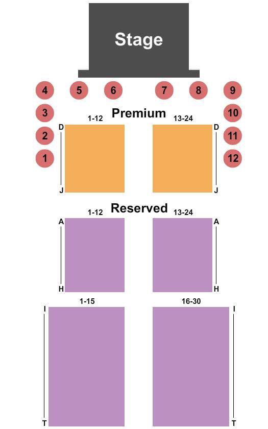 Cher-Ae Heights Casino Floor Plan