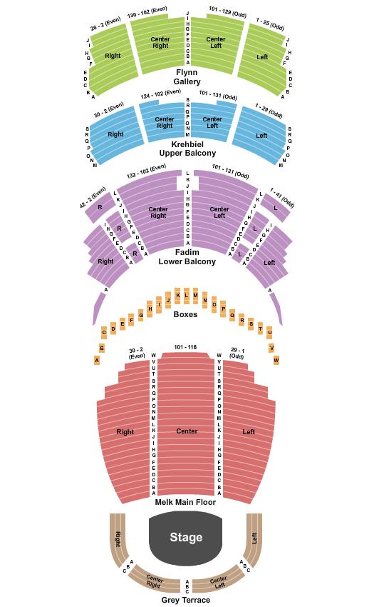 Bolero Chicago Symphony Center Seating Chart