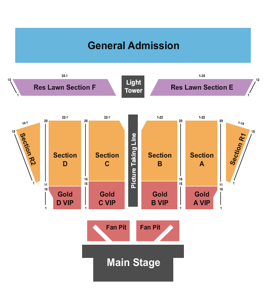 Dierks Bentley Chippewa Valley Festival Grounds Seating Chart