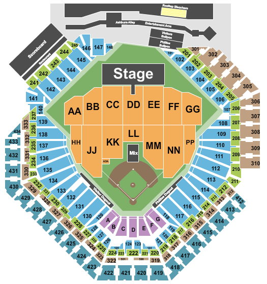 Citizens Bank Park Floor Plan