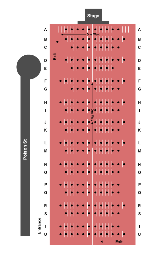 CityView Drive-In Seating Chart
