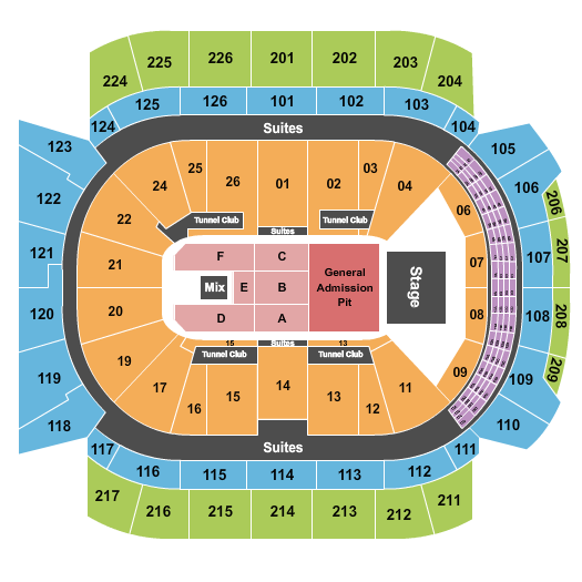 Climate Pledge Arena seating chart event tickets center