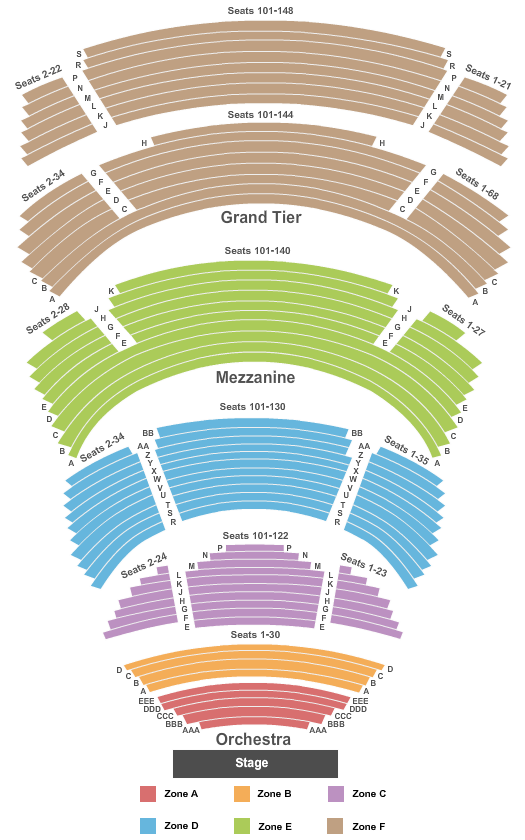 Cobb Energy Performing Arts Centre Floor Plan