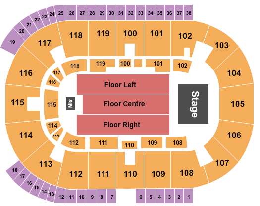 Coca-Cola Coliseum seating chart event tickets center