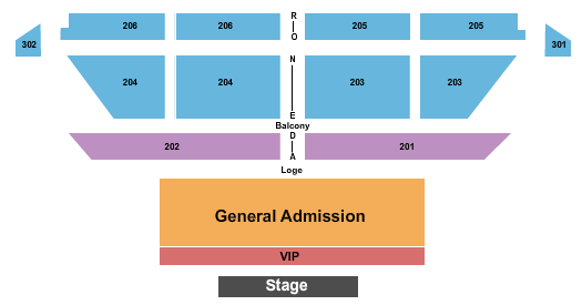 College Street Music Hall seating chart event tickets center