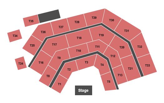 Comedy Cellar at Rio Las Vegas Seating Chart
