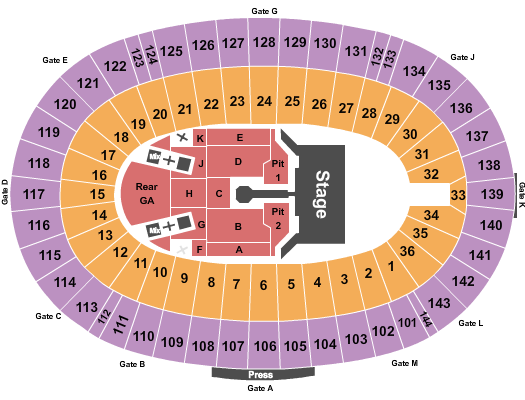 Cotton Bowl Stadium Floor Plan