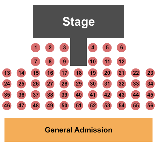 Country River Club Seating Chart