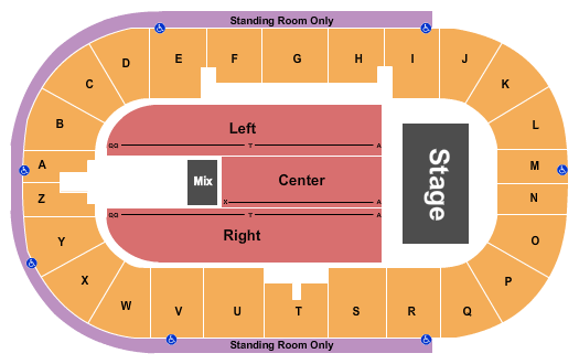 Credit Union Place - PEI Seating Chart