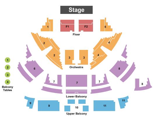 Dayton Masonic Center seating chart event tickets center