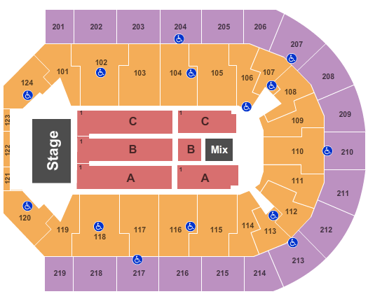 Cher Denny Sanford Premier Center Seating Chart