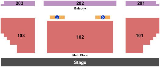 Des Plaines Theatre Floor Plan