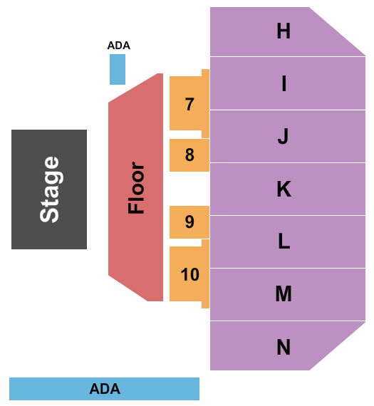 Don Barnett Arena At Rushmore Plaza Civic Center seating chart event tickets center