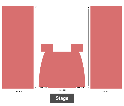 Dr. Phillips Center - Frontyard Festival Seating Map