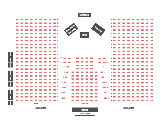 Dr. Phillips Center - Frontyard Festival seating chart event tickets center