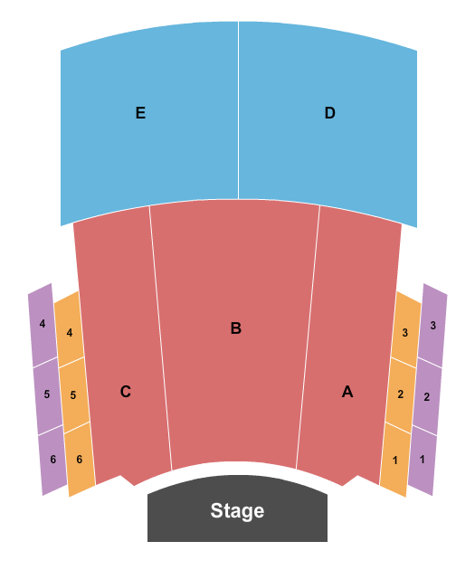 Fletcher Opera Theater At Duke Energy Center for the Performing Arts seating chart event tickets center