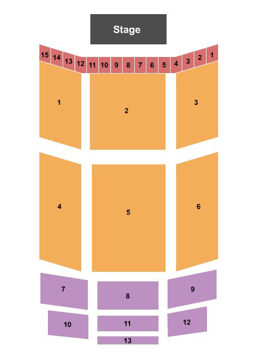 Ector Theatre Floor Plan