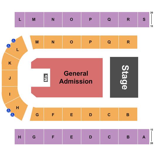 Edmonton EXPO Floor Plan