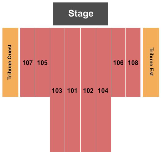 Eglise St-Jean-Baptiste Seating Chart