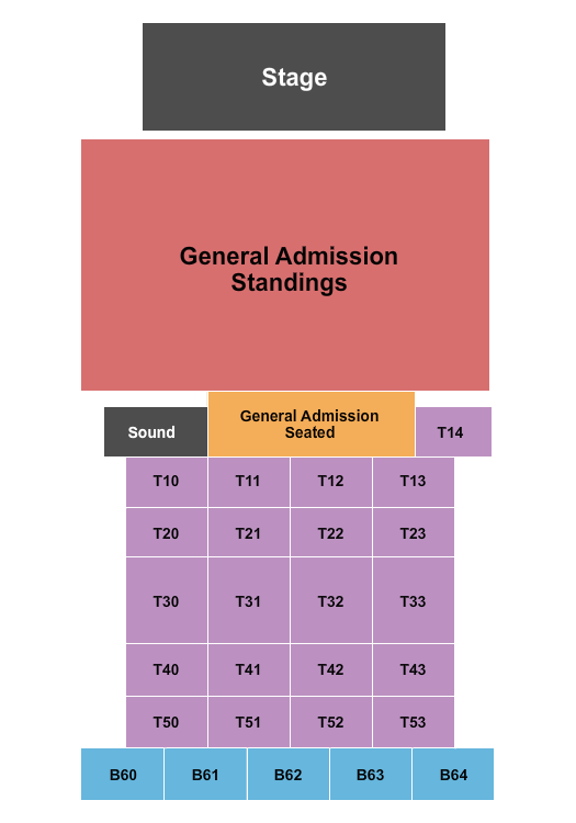 seating chart for Elevation 27 GA & Tables - eventticketscenter.com
