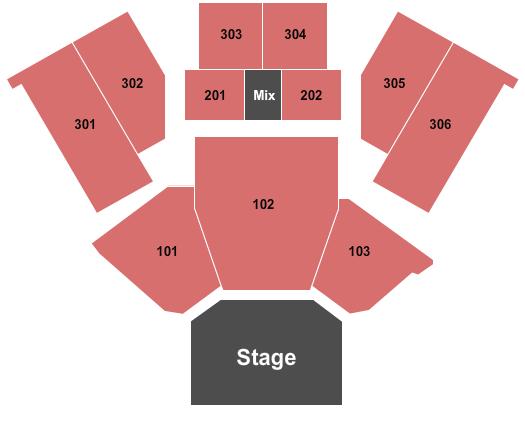 Emerald Queen Casino seating chart event tickets center