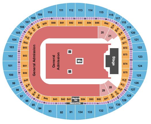 Emirates Stadium Floor Plan