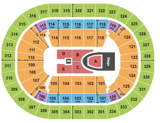 Enterprise Center seating chart event tickets center