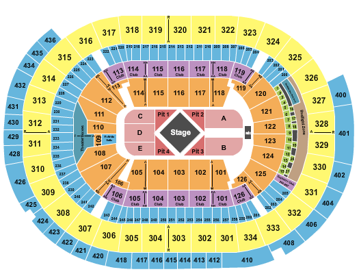 Enterprise Center seating chart event tickets center