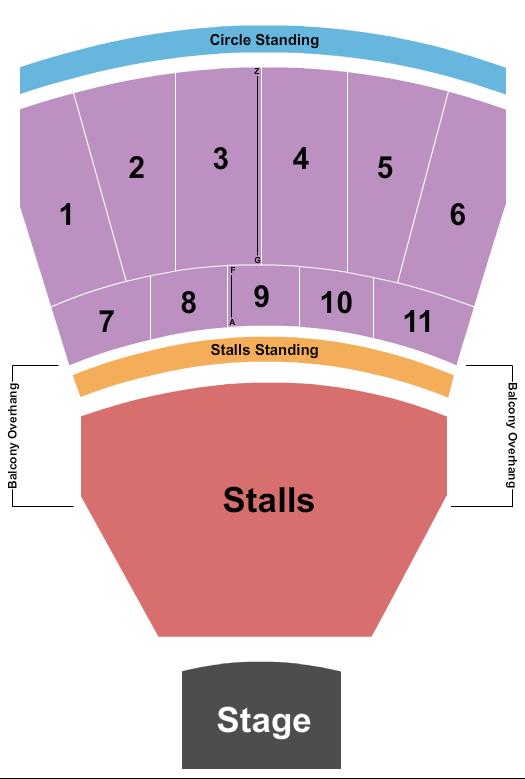 Eventim Apollo Seating Chart Plan