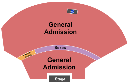 seating chart for EXPRESS LIVE! Endstage-2 - eventticketscenter.com