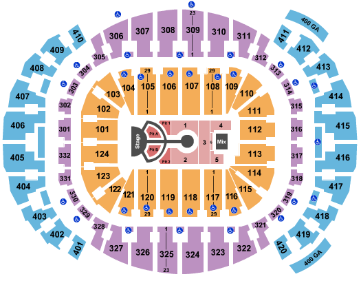 FTX Arena seating chart event tickets center