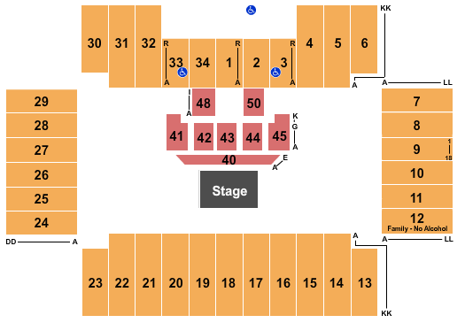 Fargodome MercyMe seating chart - eventticketscenter.com