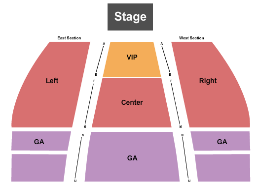 Fergus Center For The Performing Arts Seating Chart