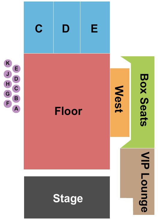 Fillmore Auditorium - Colorado seating chart event tickets center