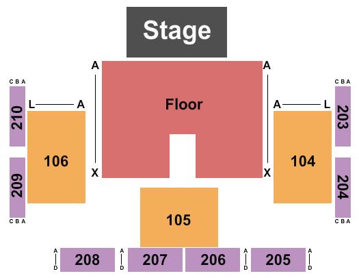 FireLake Arena Seating Chart