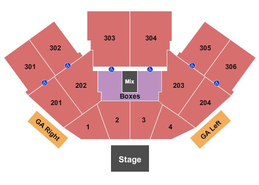 FivePoint Amphitheatre Floor Plan