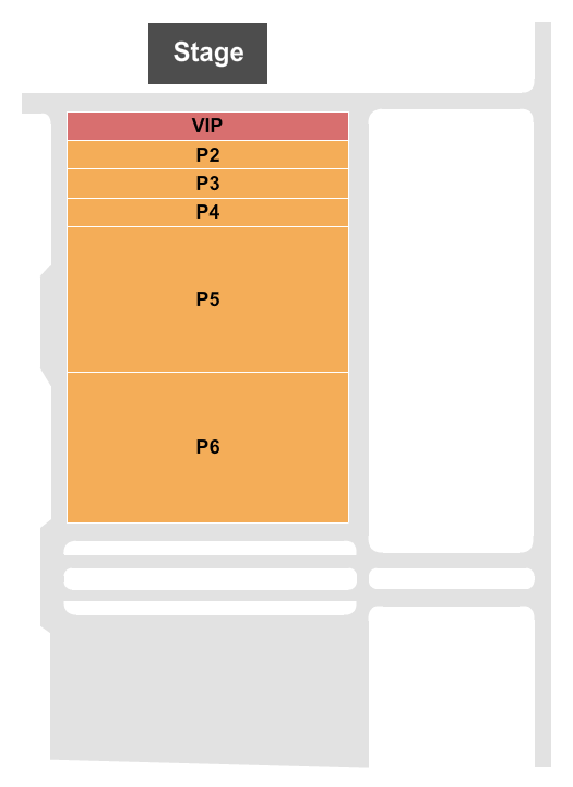 Ford Park Entertainment Complex Seating Chart
