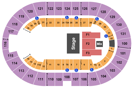 Freeman Coliseum Floor Plan
