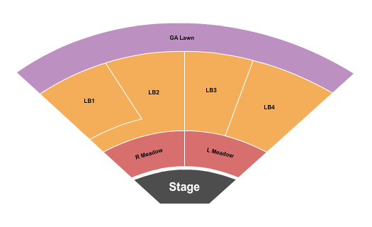 Frost Amphitheater Floor Plan