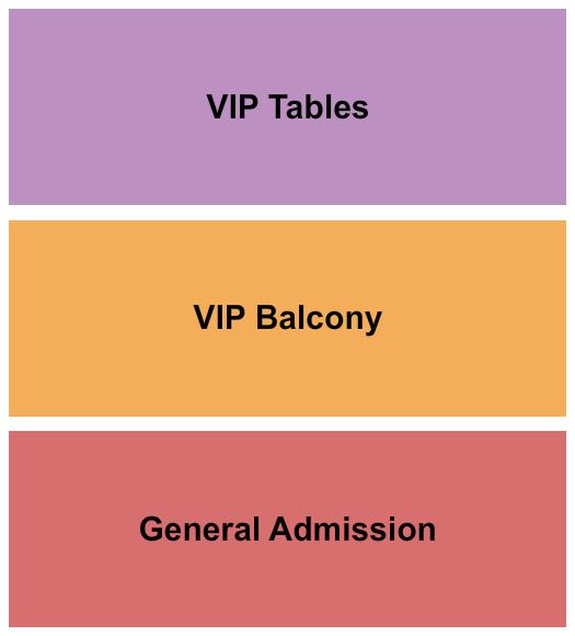 seating chart for Gas Monkey Bar n Grill GWAR - eventticketscenter.com