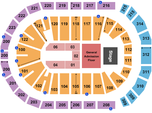 Gas South Arena seating chart event tickets center